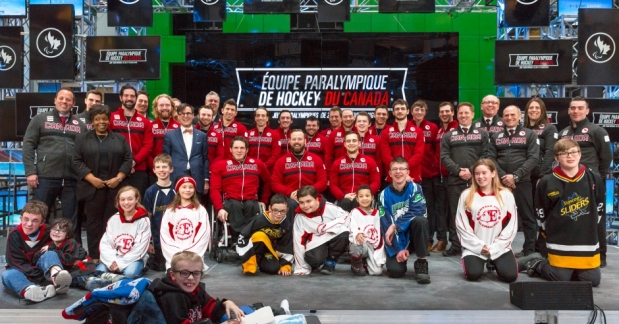 2018 Para Ice Hockey Team for PyeongChang