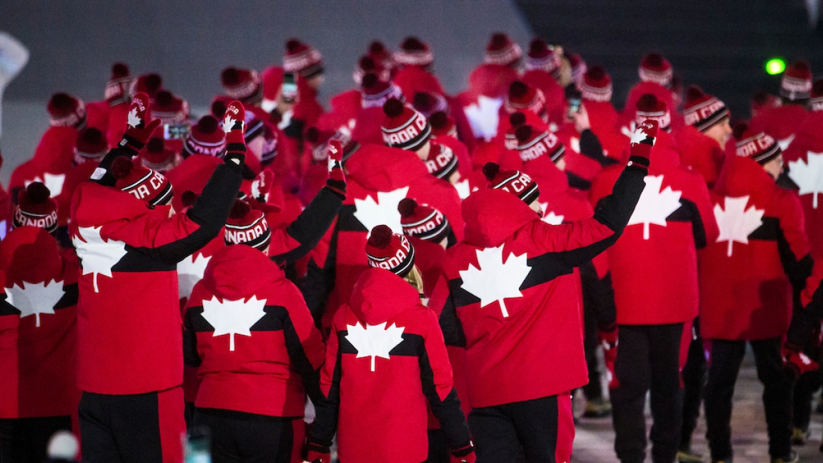 Canada at the PyeongChang 2018 Paralympic Winter Games Opening Ceremony