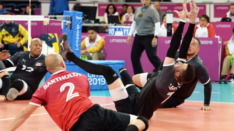 Sitting volleyball at Lima 2019